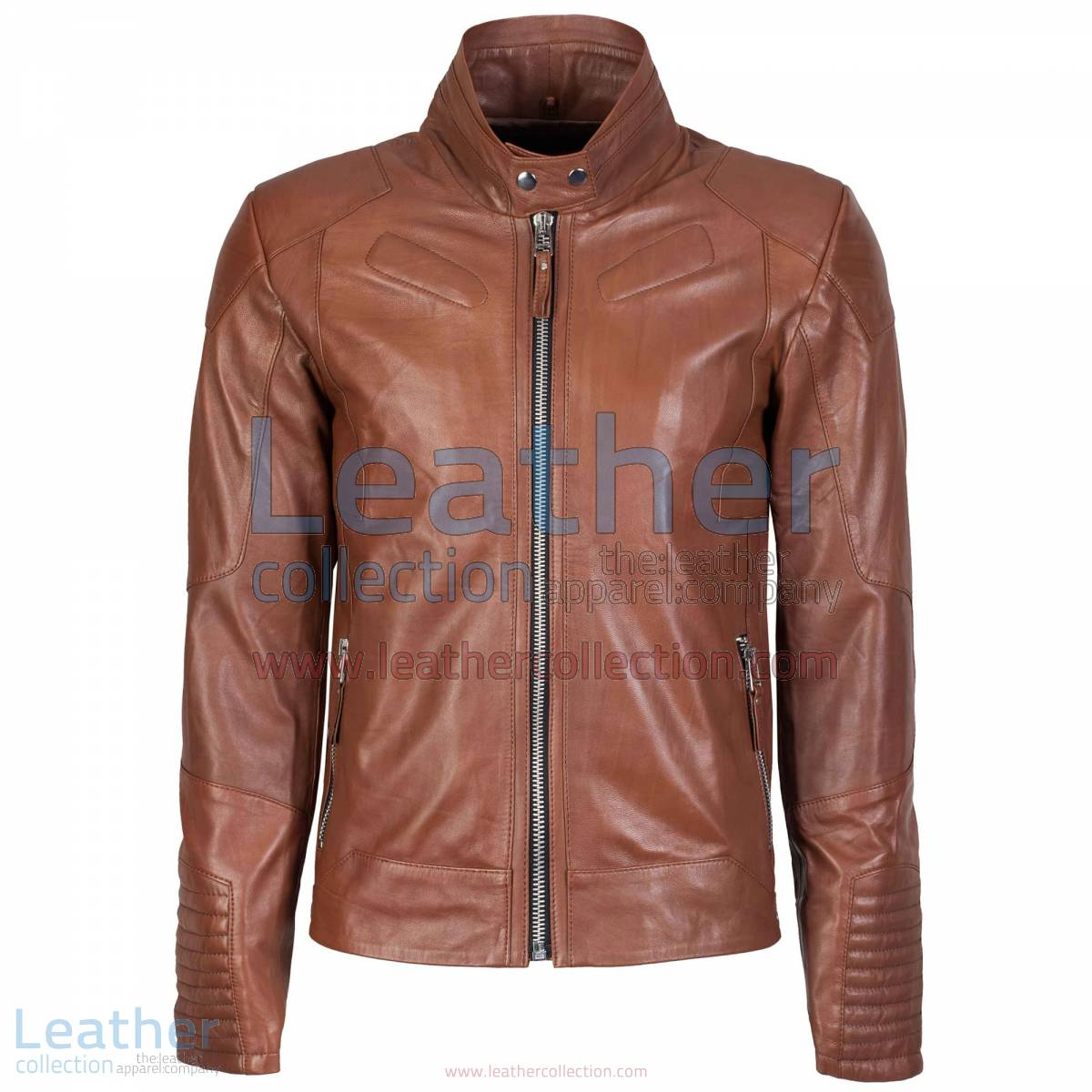 Deuce Classic Biker Leather Jacket Antique Brown | biker jacket,classic biker jacket
