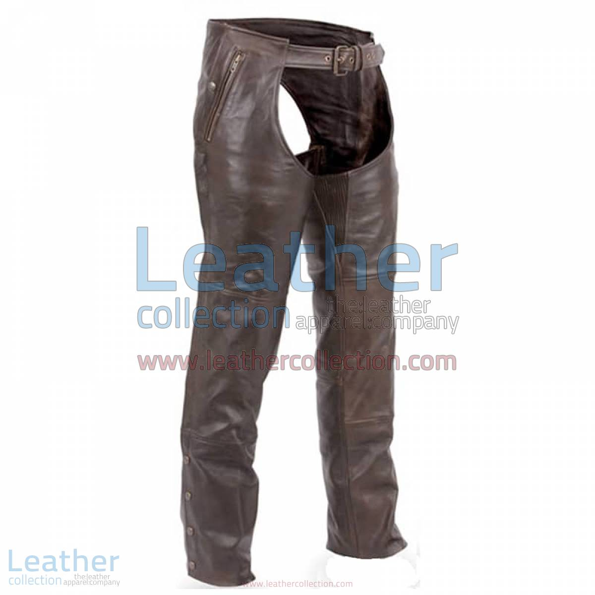Premium Brown Leather Motorcycle Chaps | brown leather chaps,leather motorcycle chaps