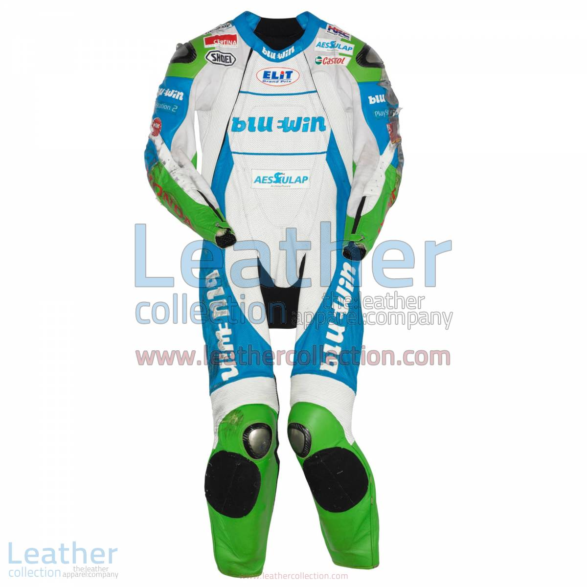 Thomas Luthi Honda GP 2005 Leather Suit | thomas luthi,honda suit