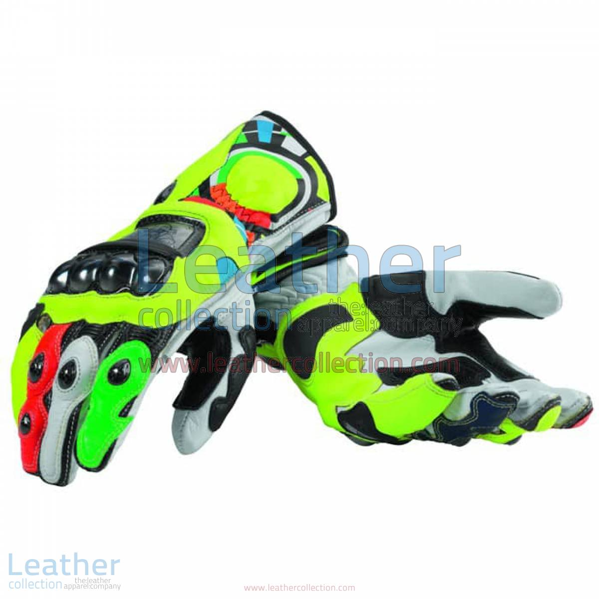 Valentino Rossi Team Ducati Replica Gloves