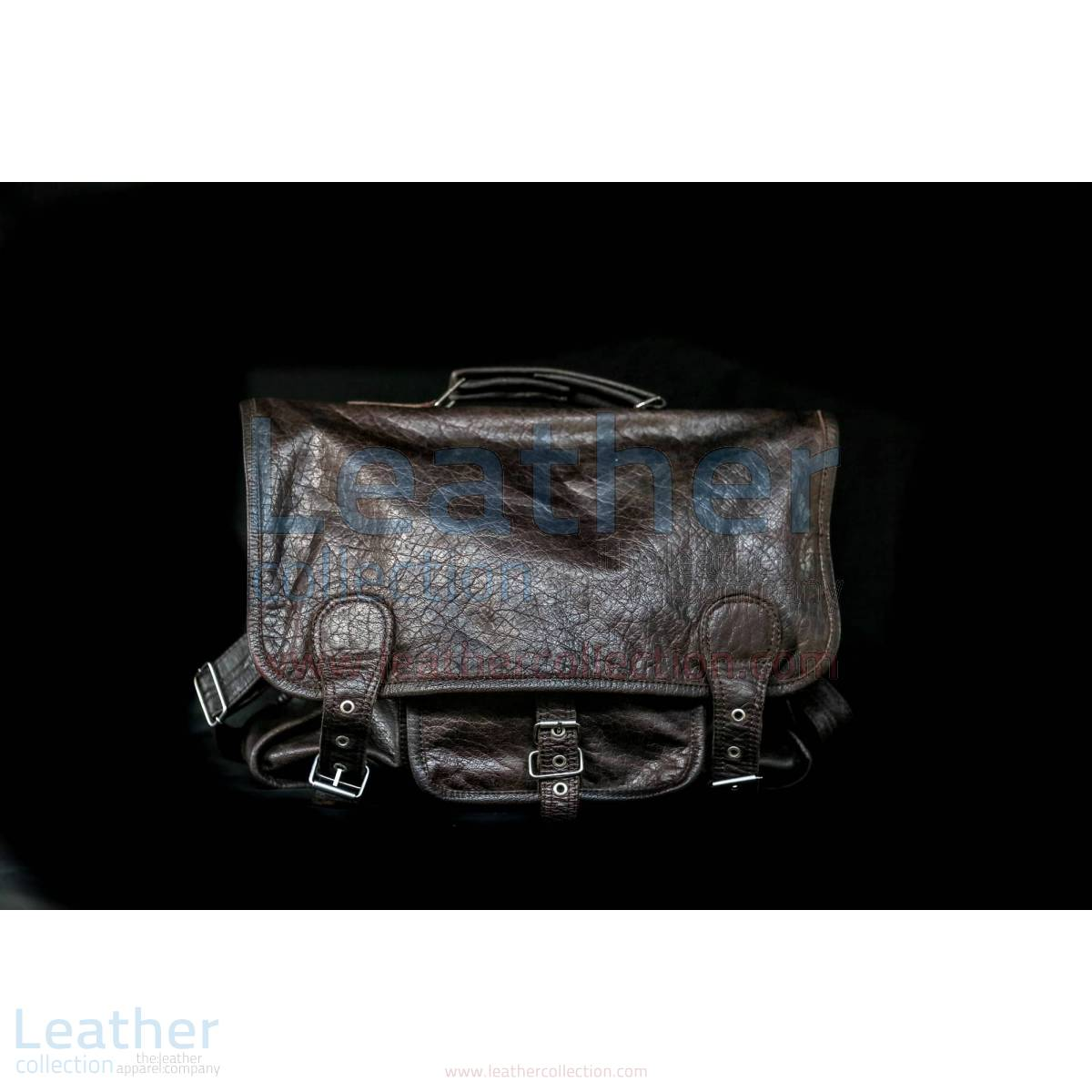 Alexzander Messenger Leather Bag –  Bag