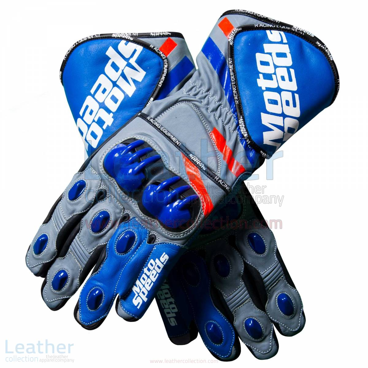 Andrea Dovizioso 2018 Leather MotoGP Gloves –  Gloves