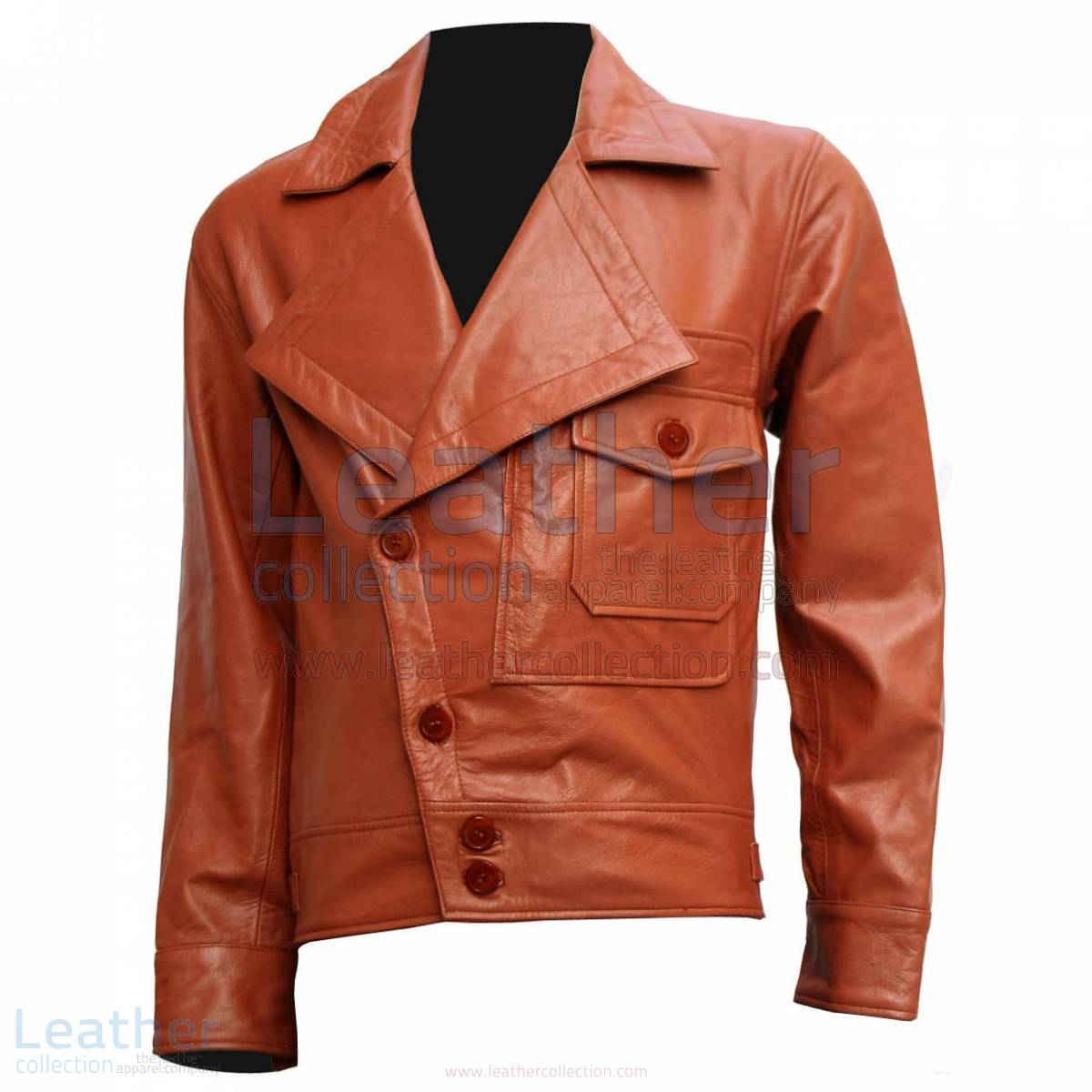 Aviator Movie Biker Leather Jacket –  Jacket