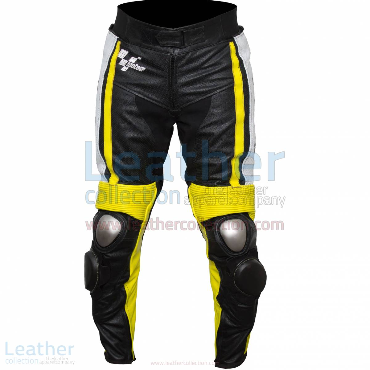 Ben Spies Yamaha Monster 2010 Leather Motorcycle Pants – Yamaha Pant