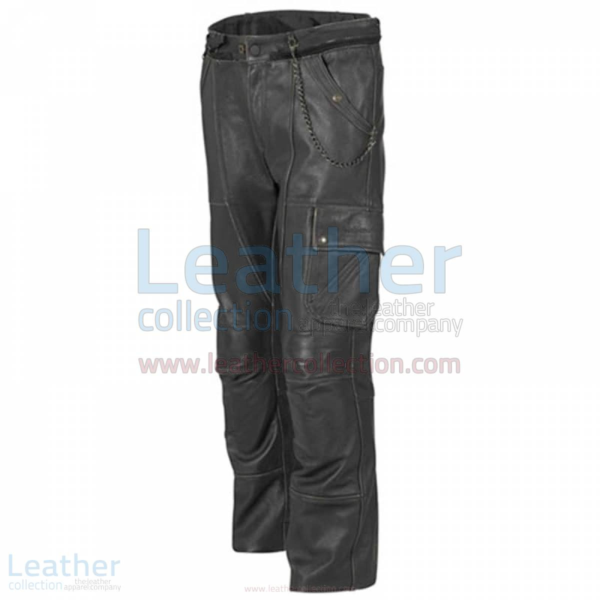 Classic Leather Motorcycle Trousers –  Pant