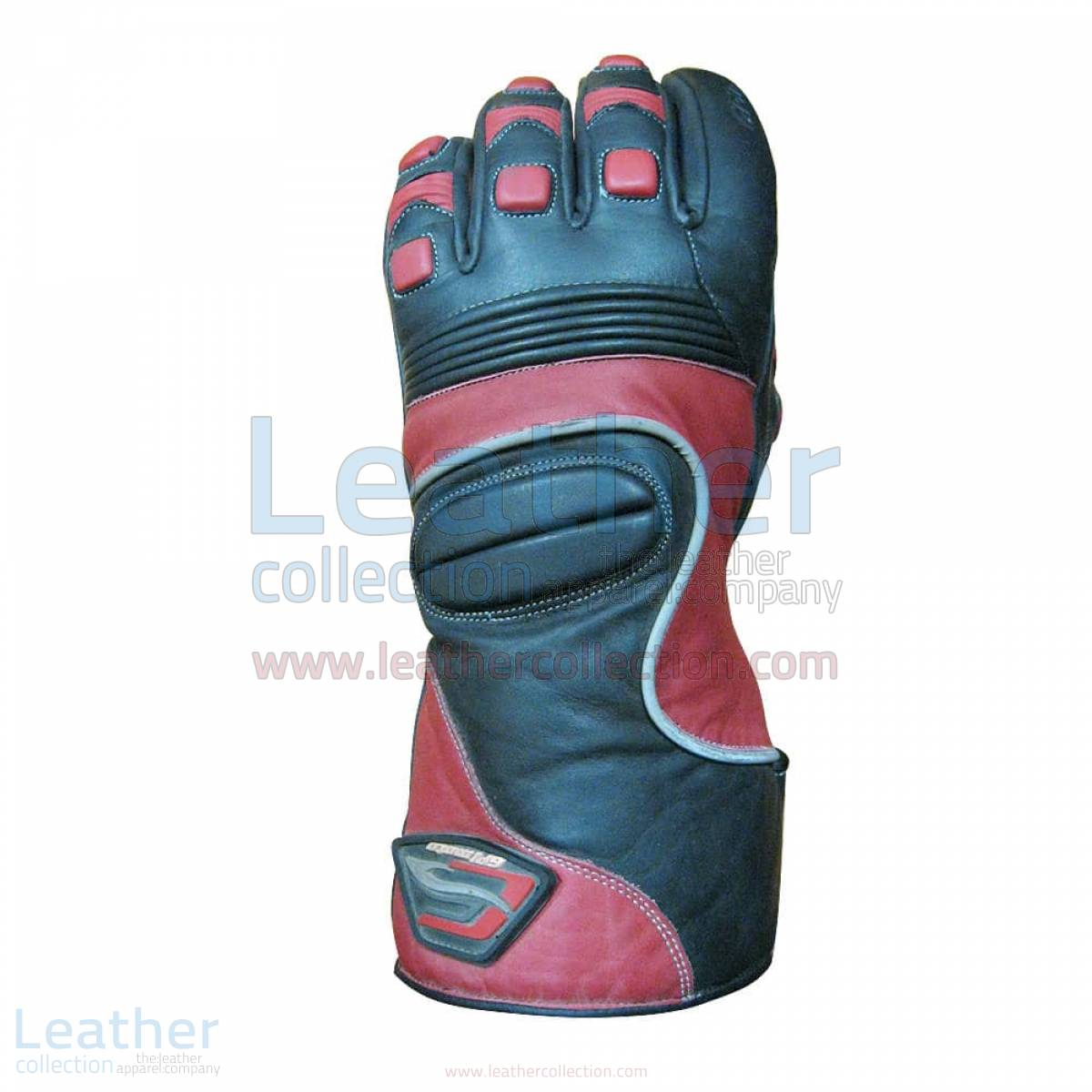 Crescent Motorcycle Leather Gloves –  Gloves