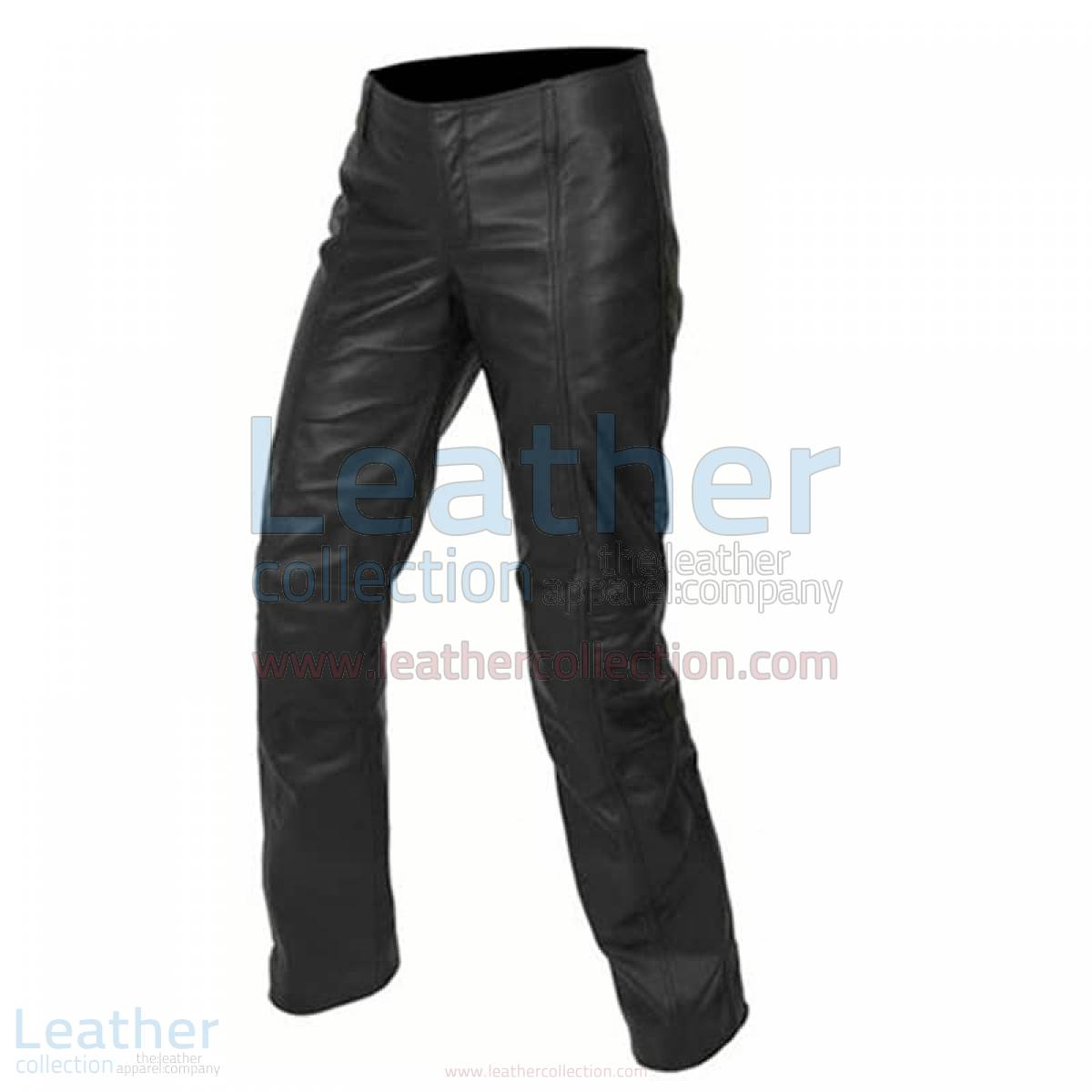 Fashion Womens Black Leather Pants –  Pant