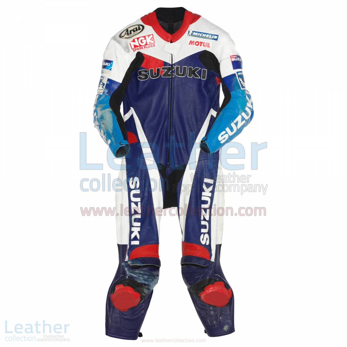 Kenny Roberts jr Suzuki GP 1999 Leathers – Suzuki Suit