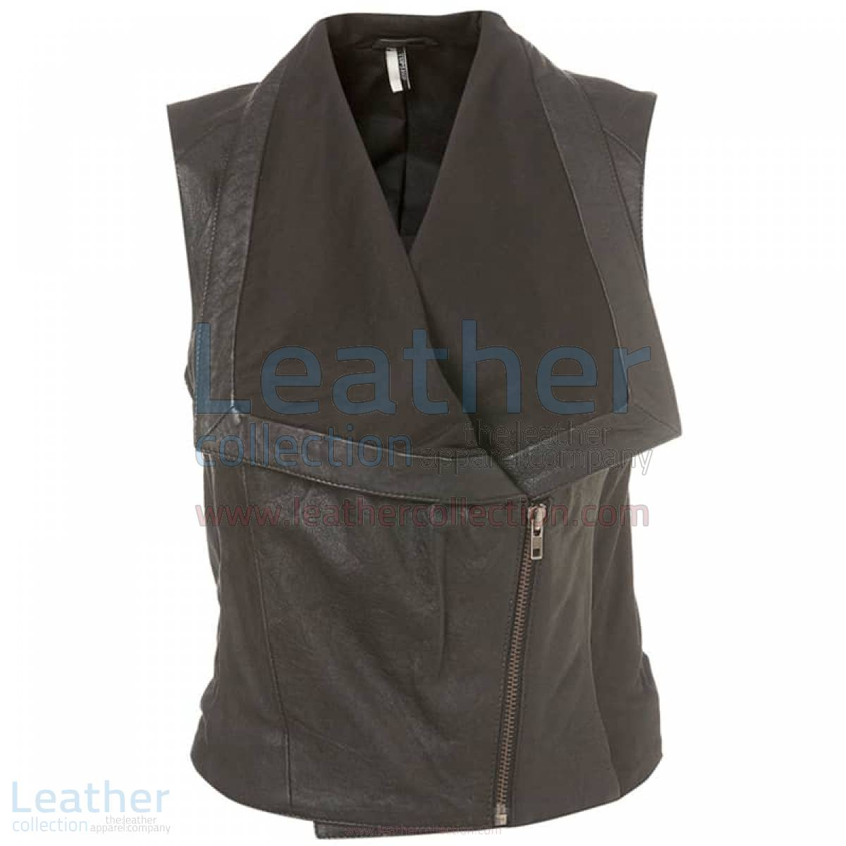 Ladies Fashion Leather Vest –  Vest