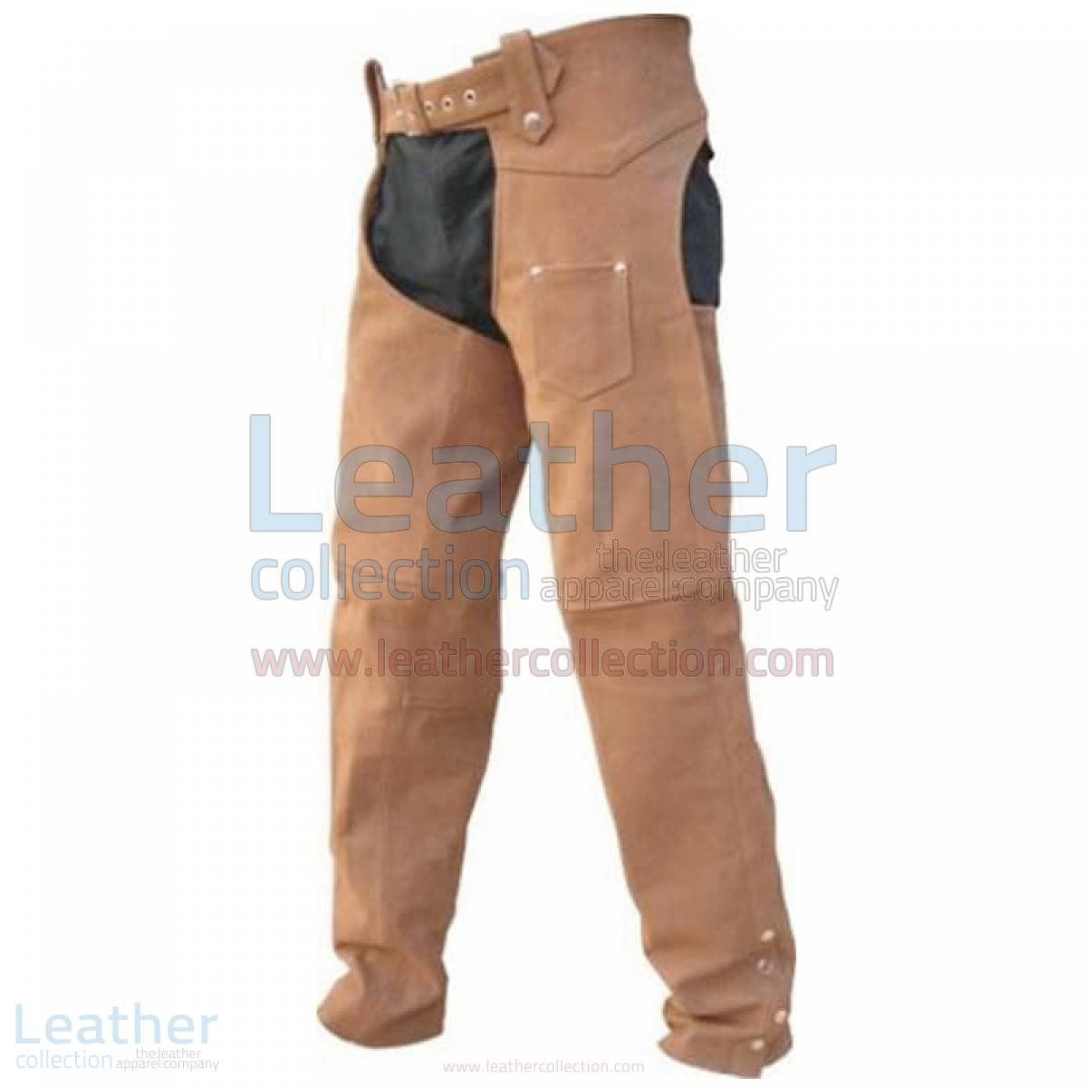 motorcycle riding chaps Men's leather Riding Chaps