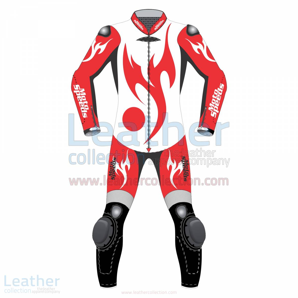 Red Eagle Motorcycle Racing Leathers –  Suit