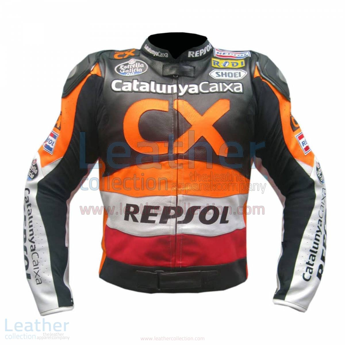 Repsol CX Leather Race Jacket –  Jacket