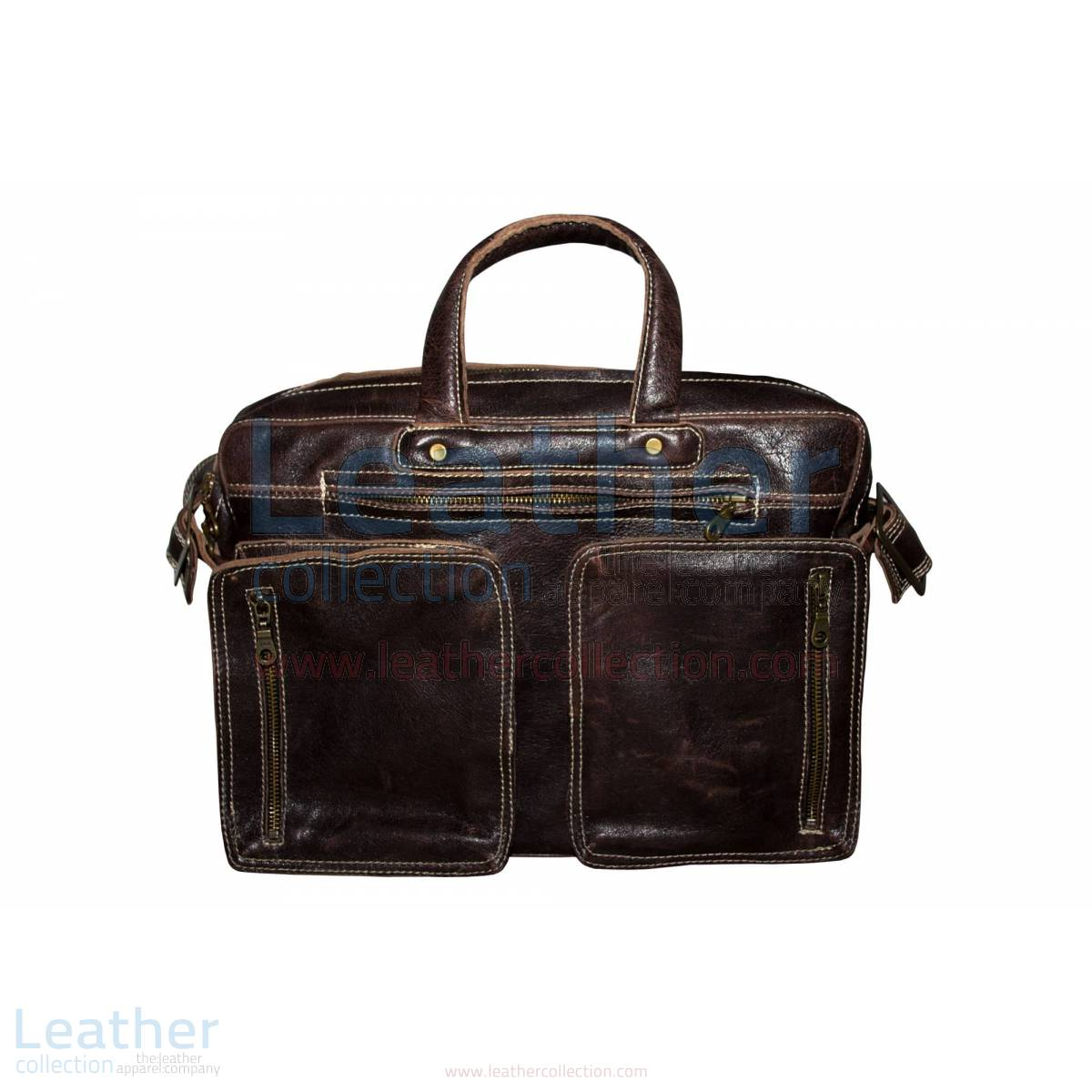 Retro Leather Laptop Bag –  Bag