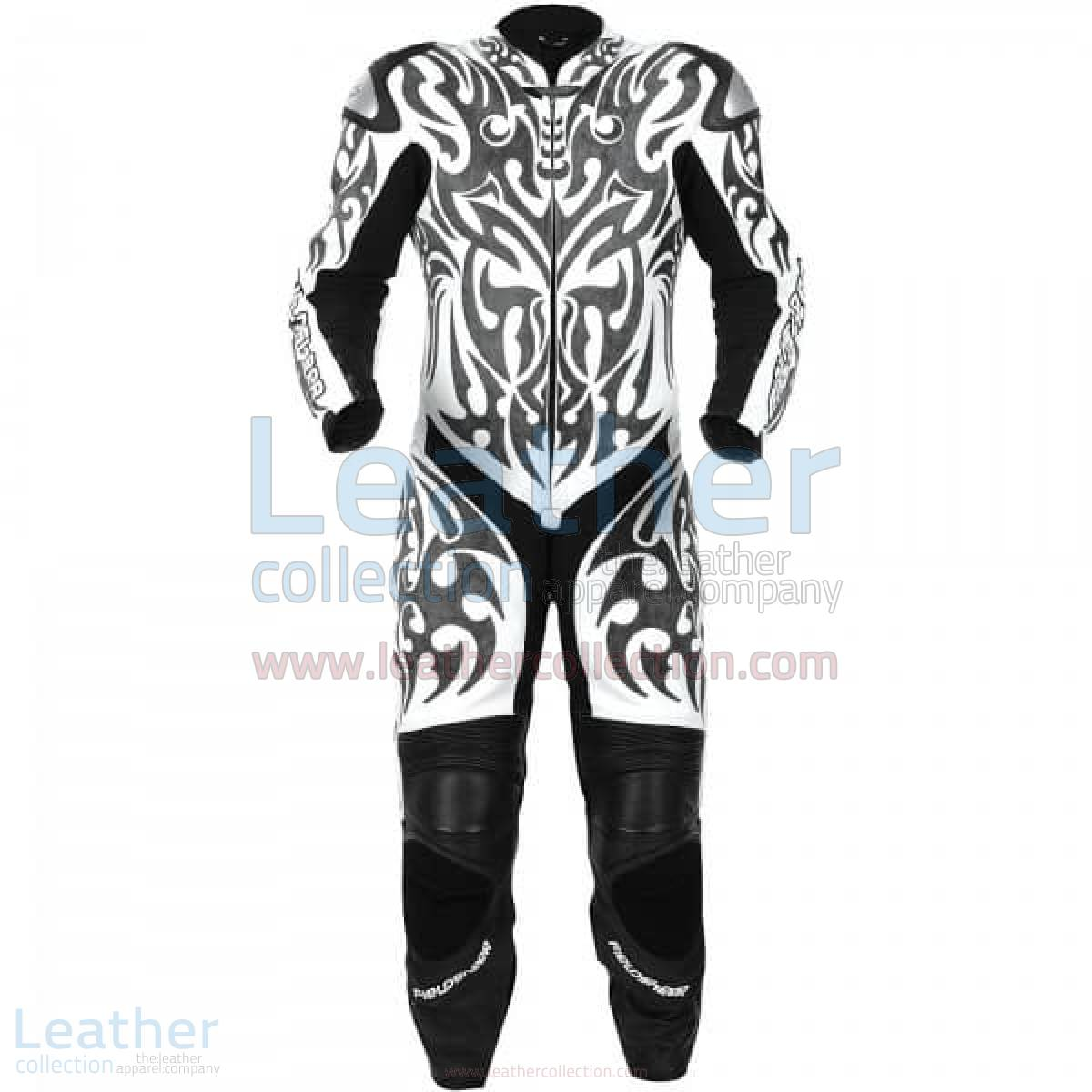 Tattoo Motorcycle Full Leathers –  Suit