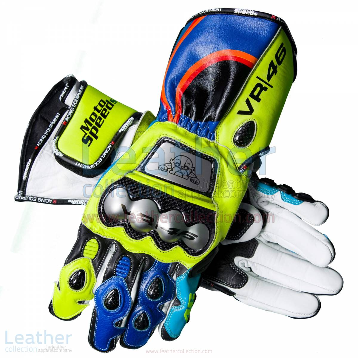 Valentino Rossi Gloves 2017-2018 MotoGP – Yamaha Gloves