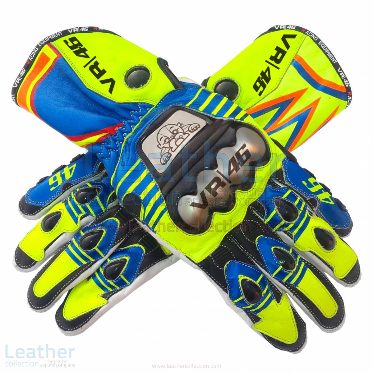 Valentino Rossi MotoGP 2015 Race Gloves – Yamaha Gloves