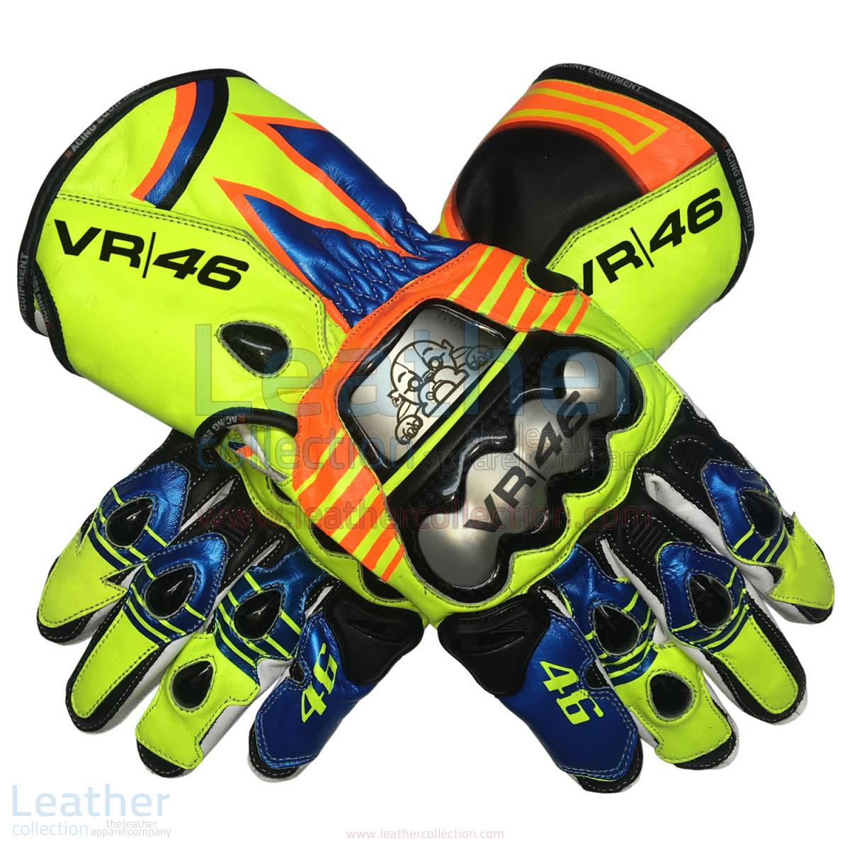 Valentino Rossi Replica Gloves 2013 – Yamaha Gloves
