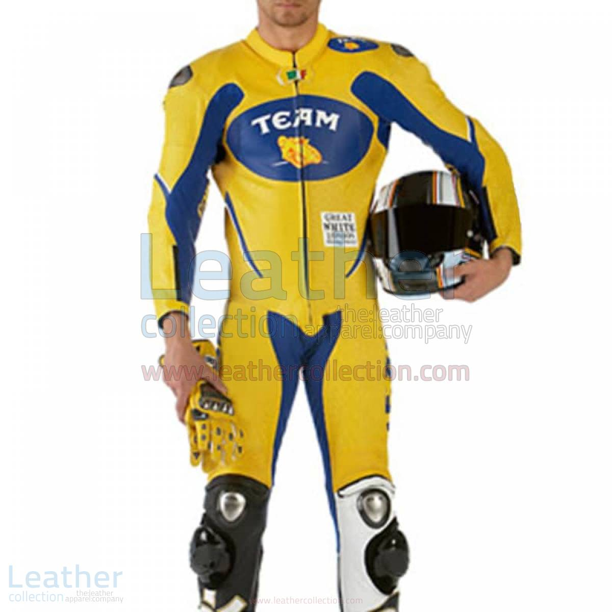 VR46 Team Motorcycle Racing Leather Suit –  Suit