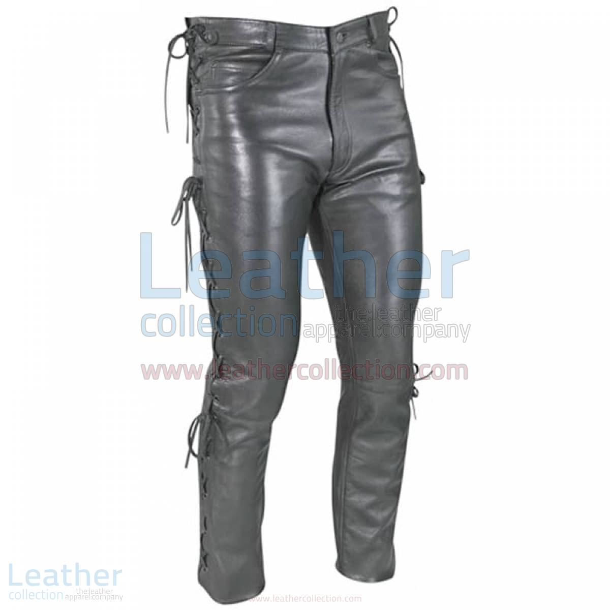 Women Leather Lace Pants –  Pant