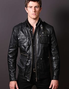 Mens Leather Coats for Sale