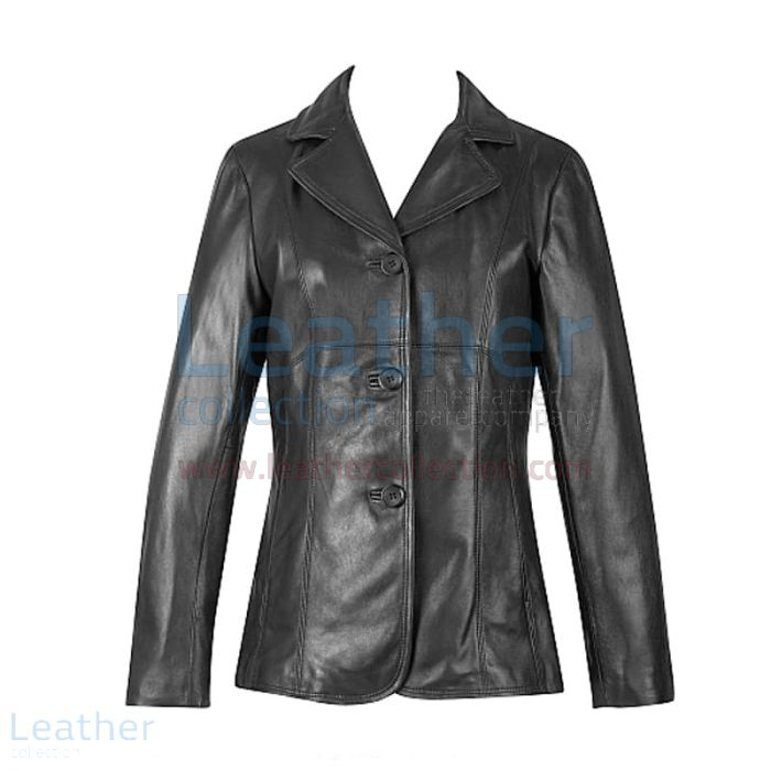 Lambskin Blazer | Buy Now | Leather Collection