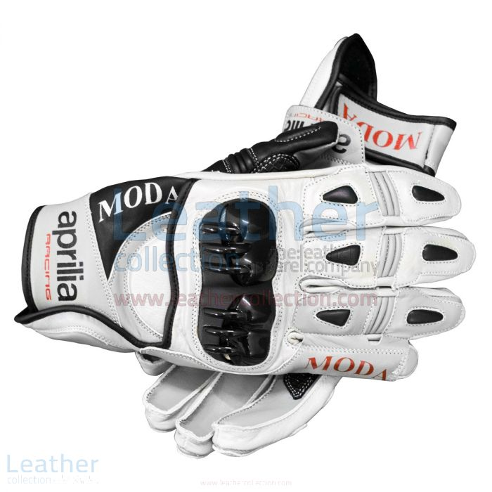 Purchase Online Aprilia Short Leather Riding Gloves for CA$327.50 in C