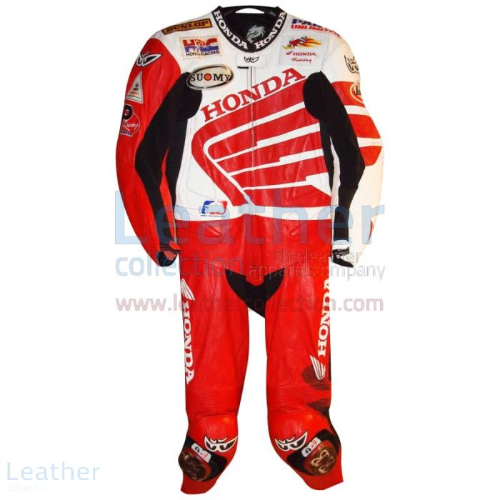 Pick up Ben Bostrom American Honda 2004 AMA Leathers for ¥100,688.00
