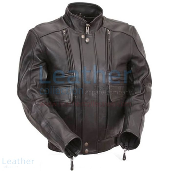 Biker Naked Leather Jacket – Biker Leather Jacket | Leather Collection