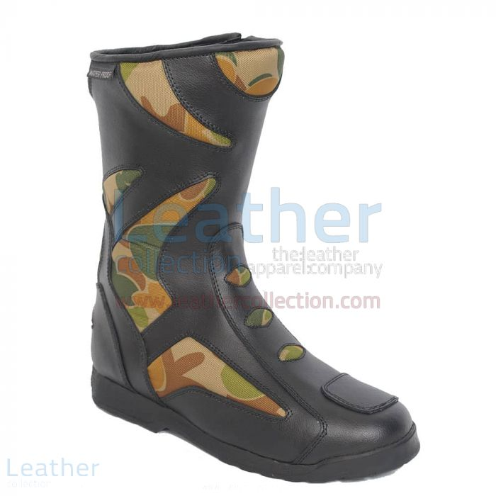 Get Tour Leather Biker Boots for CA$260.69 in Canada