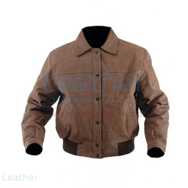 Nubuck leather jacket for Sale – Leather Collection