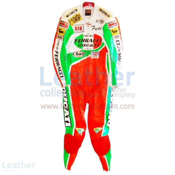 Get Freddie Spencer Ducati Corse AMA leathers for SEK7,911.20 in Swede