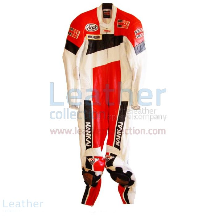 Freddie Spencer Nankai GP Replica Race Leathers front view