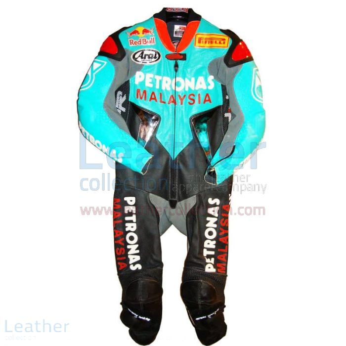 Garry McCoy Replica Petronas GP 2005 Leather Suit front