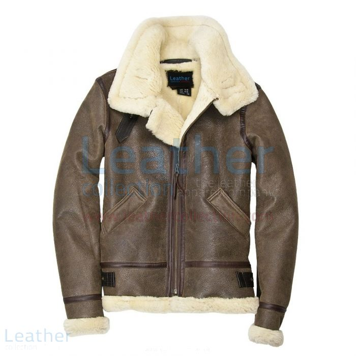 Buy Now Hooded Fur Leather Bomber Jacket Womens