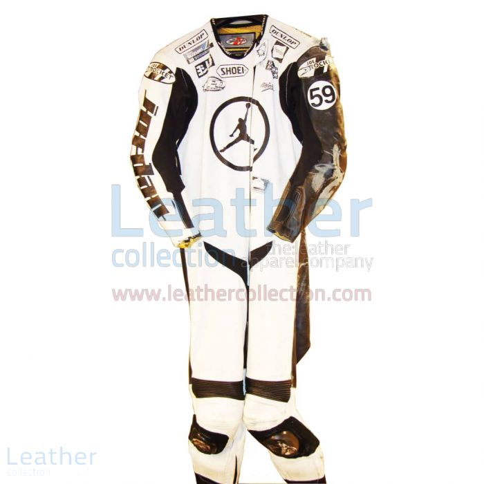 Offering Jake Holden Suzuki AMA 2006 Leather Suit for $899.00