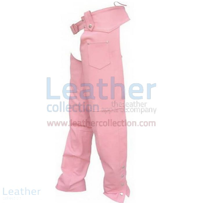 Pink Leather Chaps | Buy Now | Leather Collection