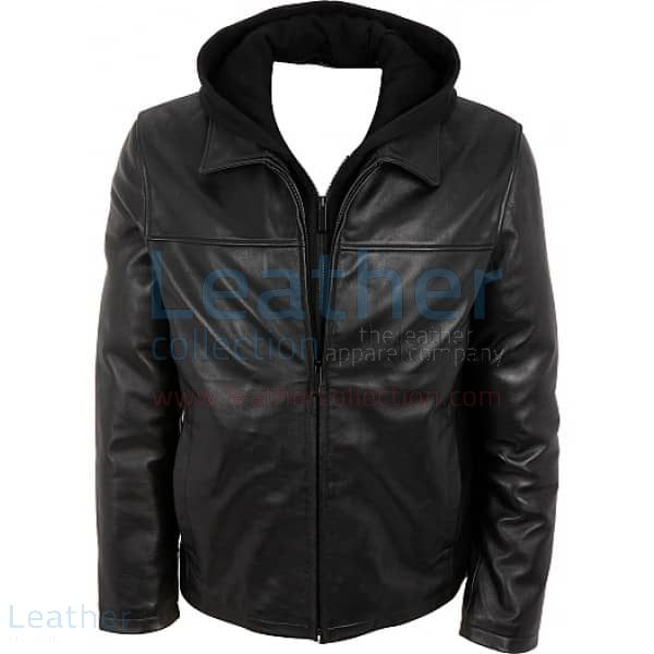 Leather Jacket with Hood | Buy Now | Leather Collection