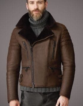 Jackets For Men – Mens Leather Jacket With Fur Collar | Finest Jackets Of Leather