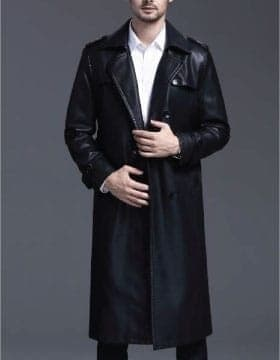 Coats For Men – Get high quality Long Leather Coat at exceptional values