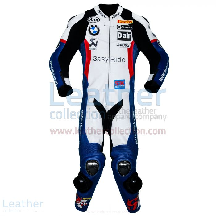 Offering Now Leon Haslam BMW WSBK 2011 Leathers for ¥100,688.00 in Ja