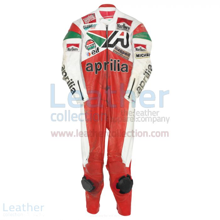 Buy Now Loris Reggiani Aprilia GP 1987 Leather Suit for SEK7,911.20 in