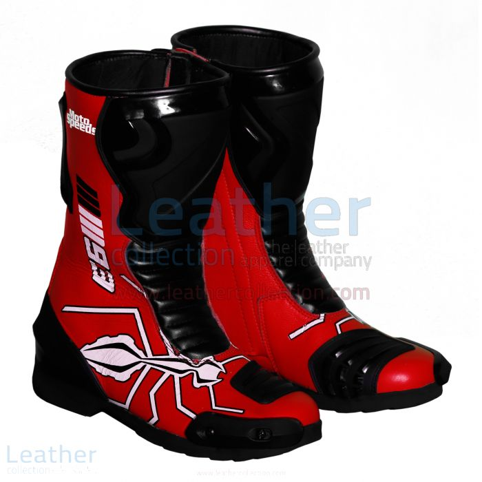 Marc Marquez 2015 - 2016 MotoGP Racing Boots right view