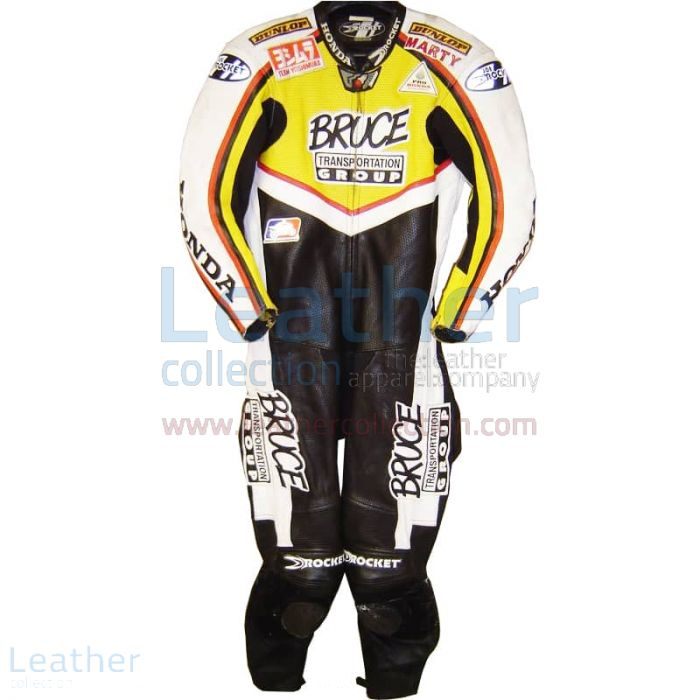 Grab Now Marty Craggill Honda AMA 2003 Race Suit for $899.00