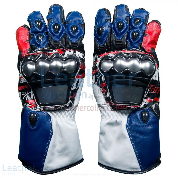 Shop for Nicky Hayden WSBK 2017 Leather Racing Gloves for CA$327.50 in