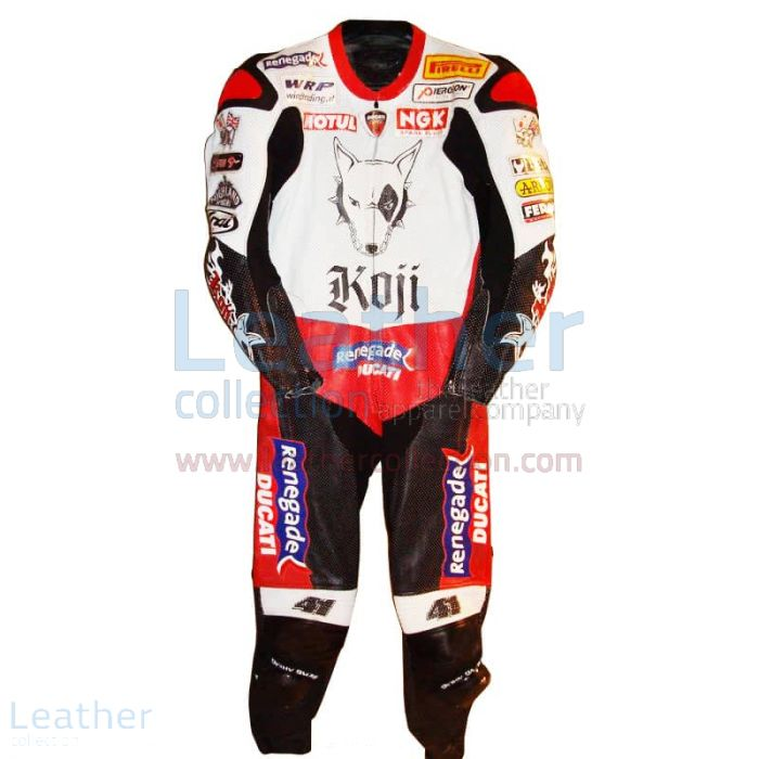 Buy Online Noriyuki Haga Ducati WSBK 2004 Racing Suit for $899.00