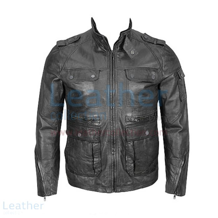 Comprar Chaqueta Hipster – 4-Bolsillo Chaqueta – Leather Collection