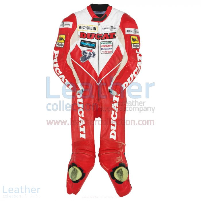 Raymond Roche Ducati WSBK 1990 Leather Suit front