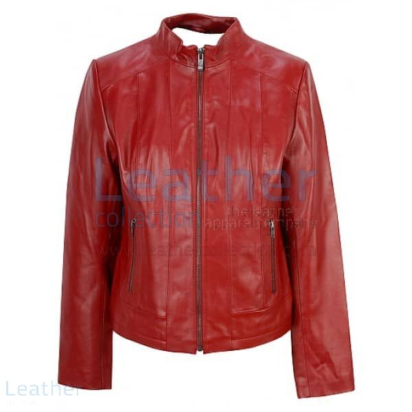 Red Fashion Jacket – Fashion Jacket | Leather Collection