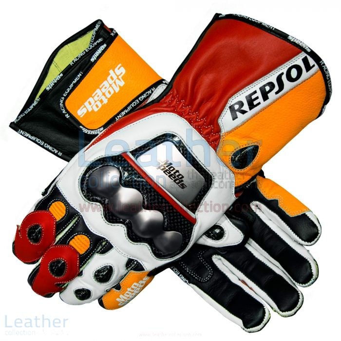 Shop! Repsol Leather Motorcycle Gloves