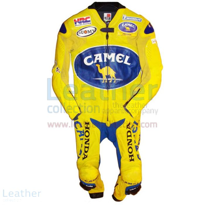 Pick Now Troy Bayliss Camel Honda GP 2005 Leathers for SEK7,911.20 in
